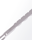 Kuris straight knife blade - convex