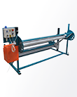 Fabric rewinding machine P-3L